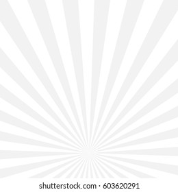 white gray sun radial vector background