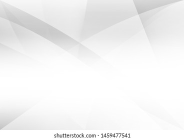 White and grey background. Corporate technology modern design. Pattern style geometric. Abstract modern background used about technology or product presentation backdrop. Vector. Illustration.