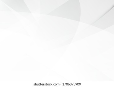 White and grey background. Corporate technology modern design. Pattern style geometric. Abstract modern background used about technology or product presentation backdrop. Vector illustration.