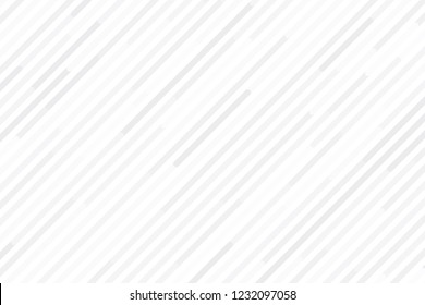 White and grey diagonal strips background, Modern white random line backdrop, Vector