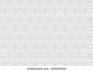 White and Grey Floral Ornament Background Image Stock Vector Download.