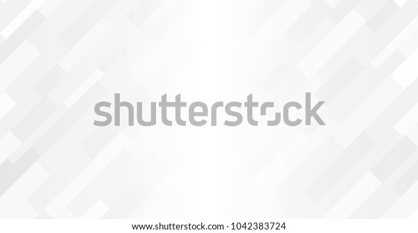 White and grey gradation geometric background, White gradation mosaic backdrop, Vector