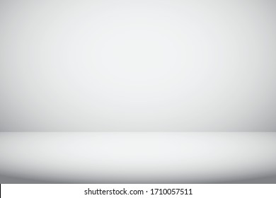 white and grey gradient abstract studio room background for valentine, christmas and displaying product.