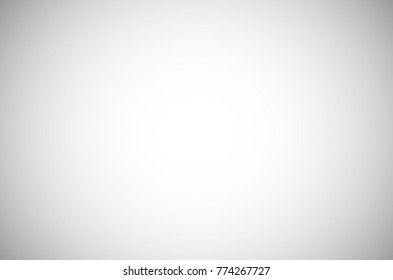White grey gradient studio room background