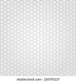 White Hexagon Grid Texture