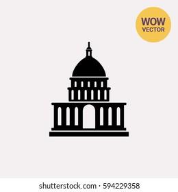 White House simple icon