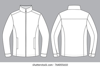 White Jacket for template