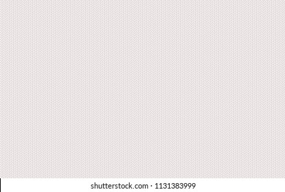 White knitted texture. Light wool yarn. Vector seamless background can be used as wallpaper, design element. Perfect place for your text. Woolen cloth, handmade. Horizontal orientation.