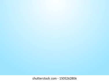 White light blue gradient abstract background