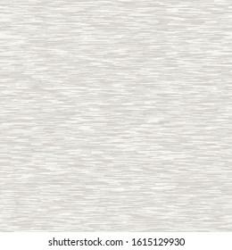 White marl heather dense rough stripe vector texture background. Broken t shirt woven line on ecru beige seamless pattern. Light variegated striped interior home decor swatch. Space dye all over print