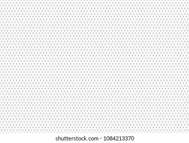 White mesh sport wear fabric textile pattern seamless background vector illustration