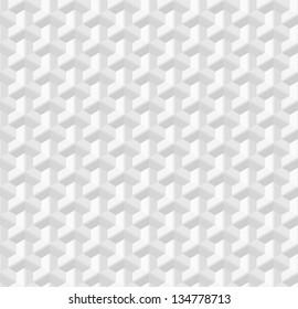 White modern texture. Vector seamless background