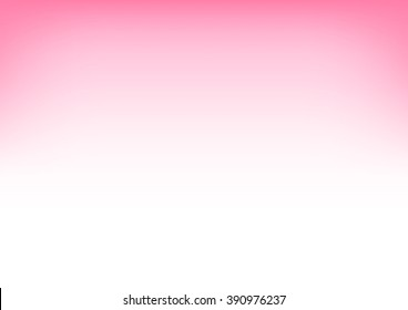 White Pink Gradient Background Vector Illustration