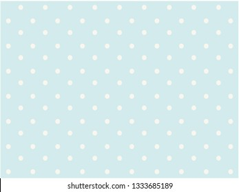 White polka dots on a blue background, abstract texture background for your design. Design by Inkscape.
