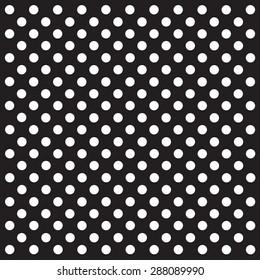 white polka dots pattern