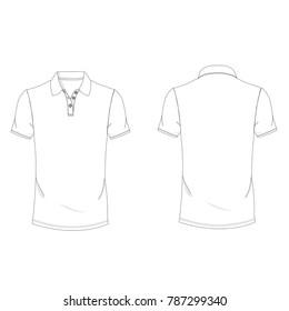 Ilustraciones Imágenes Y Vectores De Stock Sobre Polo Shirt