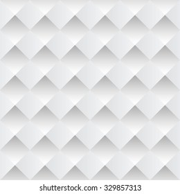 white pyramid background with seamless designs pattern