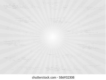 white ray star burst background.