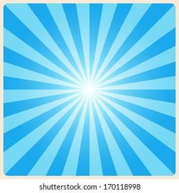 white rays background. Illustration EPS10