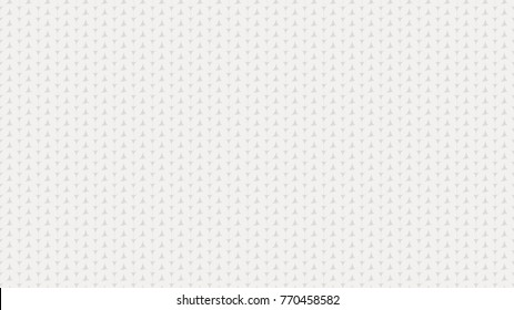 White realistic wireless knit texture. Knitted seamless pattern. Flat style vector illustration.