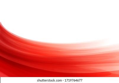 Weiße und rote polnische Flagge. Soft-Pastellfarben-Hintergrund