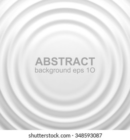 White rippled background with place for your content. White background design for banner, poster, flyer, card, postcard, cover, brochure. Eps 10 vector illustration with gradient mesh.