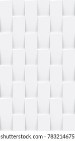 White seamless abstract geometric background