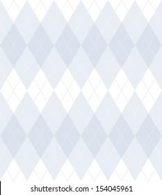 White seamless argyle pattern
