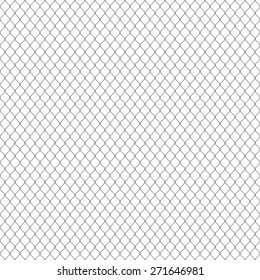 white seamless texture. structure of the mesh fence. vector background