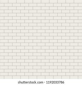 White seamless tiles vector texture.