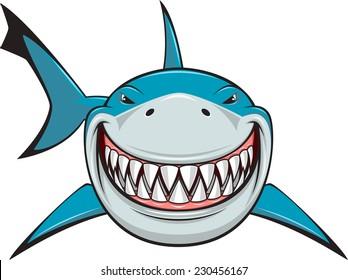 smiling shark images stock photos vectors shutterstock rh shutterstock com Baby Shark Clip Art Friendly Shark Clip Art
