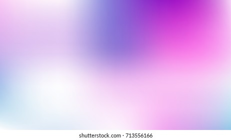 White, Skyblue and Purple Abstract Gradient blurred vector background