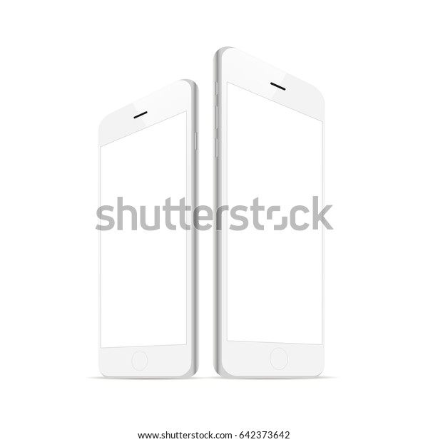 the latest 1c780 c1caf White Smartphone Iphone 6 Blank Screen Stock Vector (Royalty Free ...