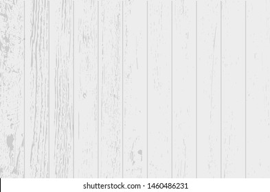 White soft wood surface as background. Vector illustration.