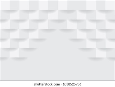 White square geometric texture background  Can be adapt to Brochure, Annual Report, Magazine, Poster, Corporate Presentation, Portfolio, Flyer, Banner, Website. Vector Abstract geometric texture.