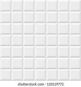 White tiles texture, seamless