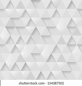 White triangular background, eps10 vector
