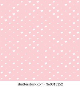 White Valentine heart background wallpaper. Pink rose quartz backdrop.