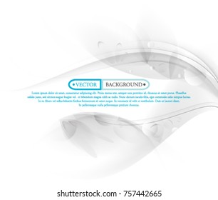 White Vector Title Design
