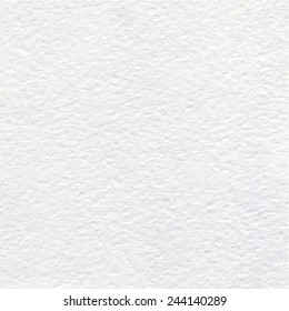 White Watercolor paper texture or background. Vector.