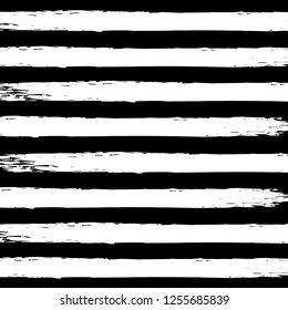 White watercolor stripes on black background in grunge style