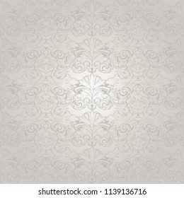 white wedding background with a pearl shine, royal, vintage with classic Baroque pattern, Rococo with darkened edges background(card, invitation, banner). Square format