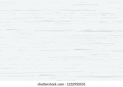 White wood plank texture vector background.