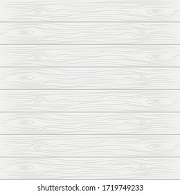 White wood texture background vector