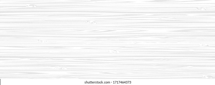 White wooden surface background, vector plank wood texture. Editable, no trace