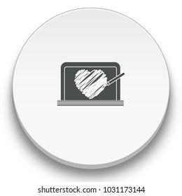 whiteboard flat icon