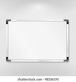 Whiteboard, vector eps10 illustration