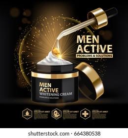 Whitening Cream collagen solution Skin Care Cosmetic.
