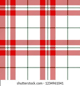 White,red and green tartan plaid Scottish seamless pattern.Christmas and New year concept.Texture from tartan, plaid, tablecloths, clothes, shirts, dresses, paper, bedding, blankets.