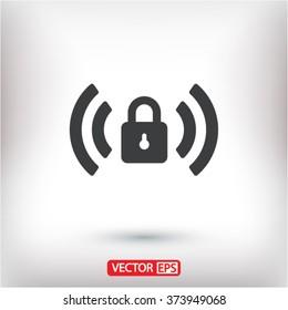Wi fi password  icon